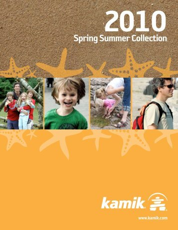 Spring Summer Collection - Kamik