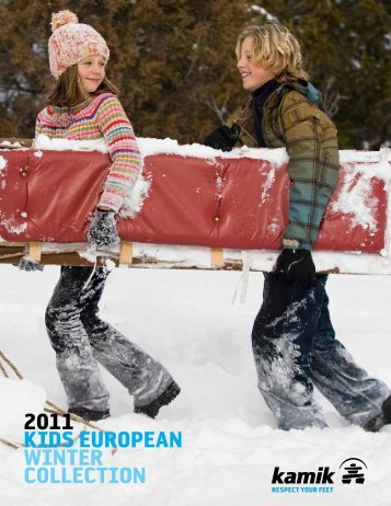 2011 KIDS EUROPEAN WINTER COLLECTION - Kamik