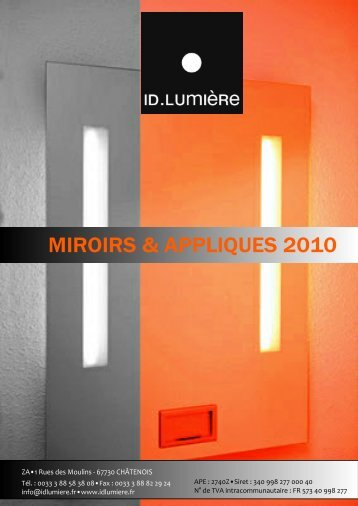 Couverture catalogue Miroirs 2010 - GRS