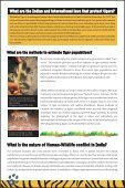 FAQs & Facts on Bengal Tiger - WWF-India - Page 5