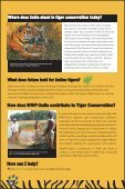 FAQs & Facts on Bengal Tiger - WWF-India - Page 7
