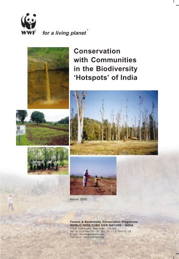 Conservation with Communities in the Biodiversity ... - WWF-India