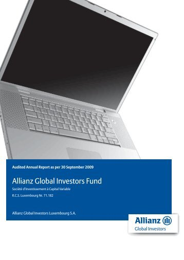 Allianz Global Investors Fund Audited annual ... - DBS Hong Kong