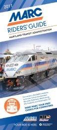 Gu ide - Maryland Transit Administration - Maryland.gov
