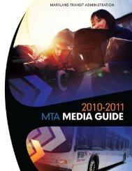 MTA Media Guide 2010-2011 - Maryland Transit Administration ...