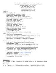 May 2011 - Maryland Transit Administration