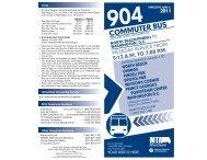 COMMUTER BUS - Maryland Transit Administration - Maryland.gov