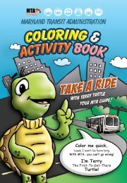 Ride with Terry Turtle - Maryland Transit Administration