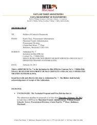 Holders of Contracts Documents FROM: Karen Elsey, Procurement ...