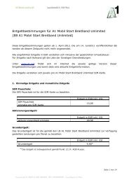 EB A1 Mobil Start Breitband Unlimited - A1.net