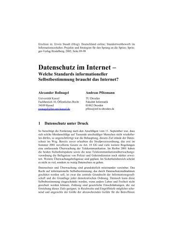 Document (PDF) - Professur Datenschutz und Datensicherheit