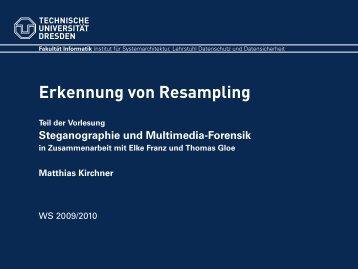 Folie - Professur Datenschutz und Datensicherheit