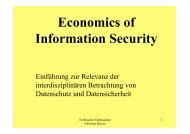 Als PDF - Professur Datenschutz und Datensicherheit