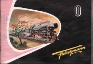 Page 1 Page 2 EISENBAHNEN SPUR 0 (32 mm) ABTEll-UNG l ?Wfl ...