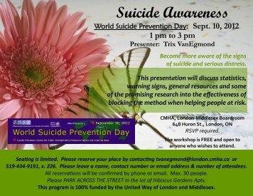Suicide Awareness