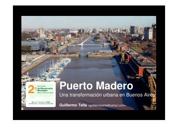 Puerto Madero - Procempa