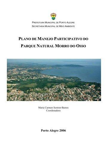 plano de manejo participativo do parque natural morro ... - CNCFlora