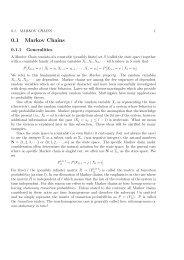 0.1 Markov Chains - IPM