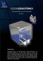 Anseros Ozonzerstörer CAT-UVC-1