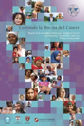 Cerrando la Brecha del Cáncer - The Department of Global Health ...