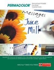 PERMACOLOR PermaGard Dry Erase Laminate - MACtac