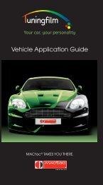 MAC2841 MACmark Tuning Films Application Guide - MACtac