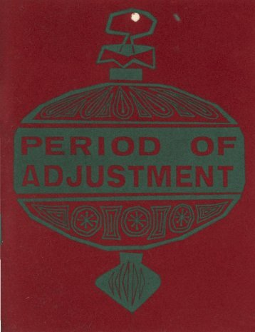Period of Adjustment, Williams 1963-1964 - Los Angeles City College