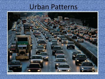 Urban Patterns - Faculty Web Pages