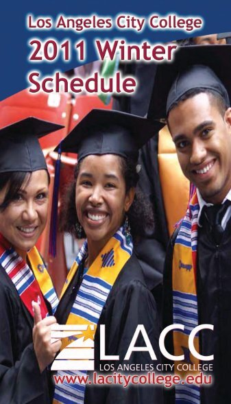 2011 Winter Session (PDF) - Los Angeles City College