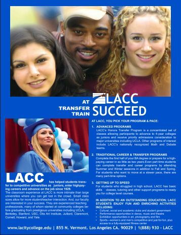 At succeed - Los Angeles City College