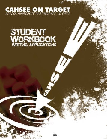 CAHSEE Writing Workbook