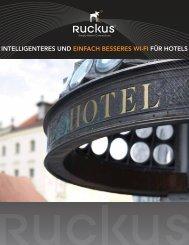 INTELLIGENTERES UND EINfACH BESSERES WI-fI fÜR HOTELS