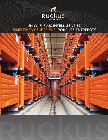un wi-fi plus intelligent et simplement supérieur pour les entrepôts