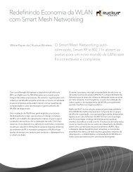 Redefinindo Economia da WLAN com Smart Mesh Networking