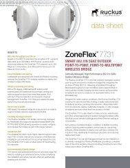 ZoneFlex™ 7731