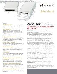 ZoneFlex™ 7025