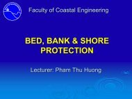 BED, BANK & SHORE PROTECTION