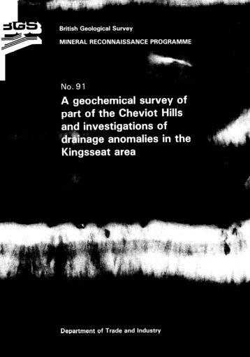 Download MRP report 91 - British Geological Survey