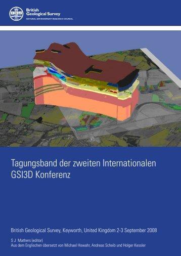 Tagungsband der zweiten Internationalen GSI3D Konferenz