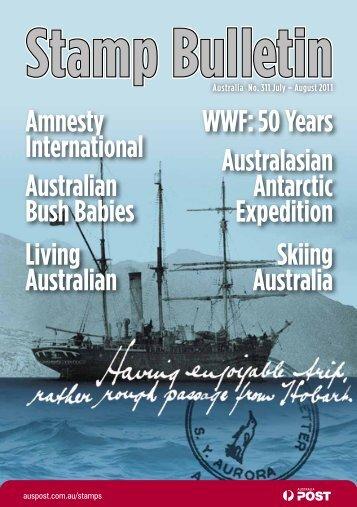 Stamp Bulletin 311 - Australia Post Shop