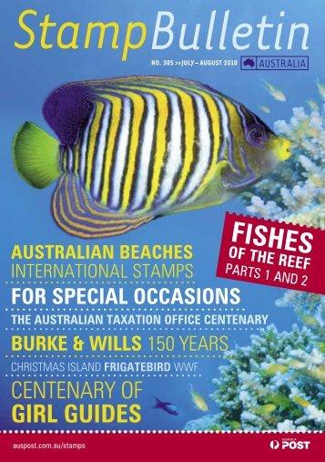 Stamp Bulletin 305 - Australia Post Shop