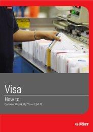Visa TLMS User Guide - Australia Post
