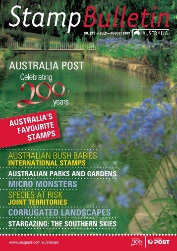 australia's favourite stamps - Australia Post Shop