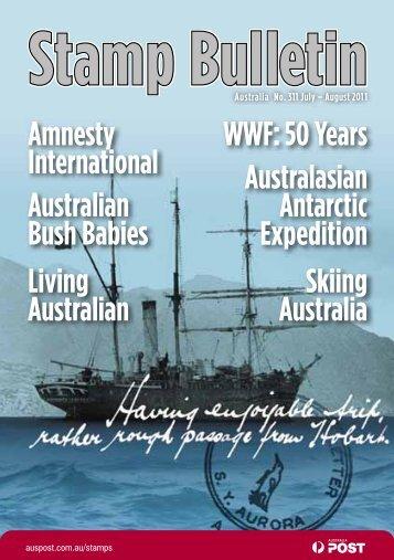 Stamp Bulletin - Australia Post Shop
