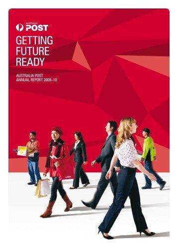 2009-10 Annual Report - Australia Post