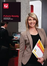 Australia Post Annual report 2012