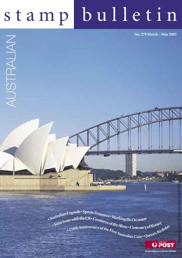 Stamp Bulletin - Australia Post Shop