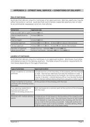 Appendix 2 - Australia Post