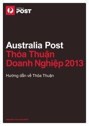Australia Post Thỏa Thuận Doanh Nghiệp 2013