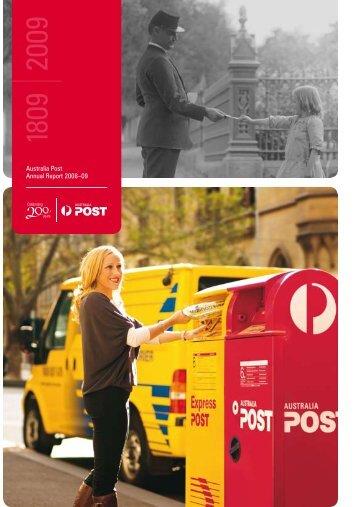Australia Post Annual Report 2008–09